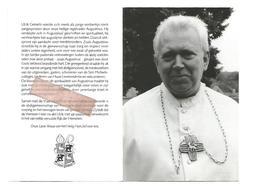 P 884. ABT ULRIK E. GENIETS -51e Prelaat AVERBODE - °EKEREN 1939 / +AVERBODE 2005 - Devotion Images