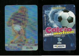 Calcio Animotion 2004-05  - Atalanta  - Rivolta - Trading Cards