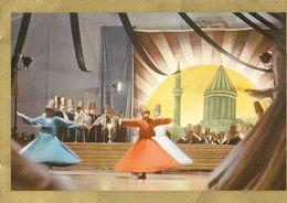Turquie - Ayin Yapan Semazenler (derviches Tourneurs) - Mevlana Memorial Ceremonies (danses Mevleni) - Turquie