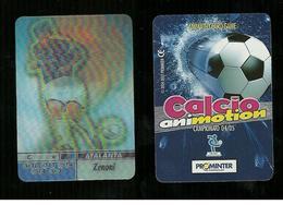 Calcio Animotion 2004-05  - Atalanta  - Zenoni - Trading Cards