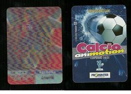 Calcio Animotion 2004-05  - Bologna  - Locatelli - Trading Cards