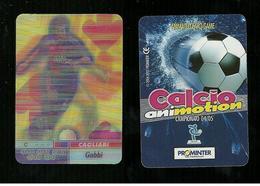 Calcio Animotion 2004-05  - Cagliari  - Gobbi - Trading Cards