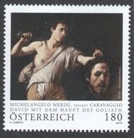 """Österreich 2019:  """"Michelangelo Merisi"""" Postfrisch (siehe Foto) - 1945-.... 2nd Republic"""