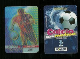 Calcio Animotion 2004-05  - Cagliari  - Zola - Trading Cards