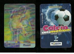 Calcio Animotion 2004-05  - Chievo  - Mandelli - Trading Cards