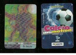 Calcio Animotion 2004-05  - Fiorentina  - De Sanctis - Trading Cards
