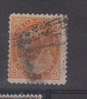 CANADA  N° 70  Oblitéré  Cote 25 Euros - 1851-1902 Victoria