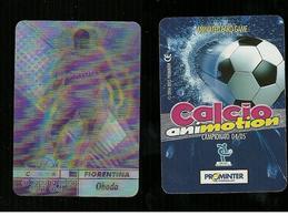 Calcio Animotion 2004-05  - Fiorentina  - Obado - Trading Cards