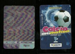 Calcio Animotion 2004-05  - Fiorentina  - Rigano' - Trading Cards