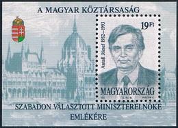 Hongrie - Hommage à Jozsef Antall BF 229 (année 1993) ** - Hongrie