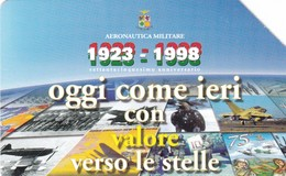 SCHEDA TELEFONICA  AERONAUTICA MILITARE  SCADENZA 30/06/2000 USATA - Italy