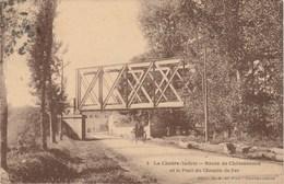 LA CHATRE  36  INDRE  CPA ROUTE DE CHATEAUROUX - La Chatre