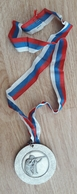 Vintage Medal Shooting Silver Medaille Medaglia Slovenia - Sports