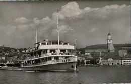 ALEMANIA , TARJETA POSTAL CIRCULADA , TEMA BARCOS - Ferries