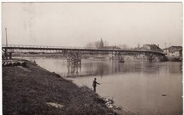 01 CARTE PHOTO DE LOYETTES **Nouveau Pont De Loyettes (incription Au Dos)** - Non Classificati