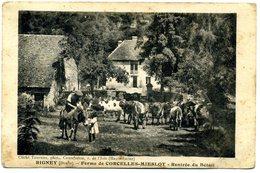 25 - Rigney - Ferme De Corcelles  Mieslot - Rentrée Du Bétail   ( A 44) - Altri Comuni