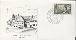Enveloppe Commémorative - 125ème Anniversaire De L'école D'horlogerie (école Royale Sarde) à Cluses (Haute-Savoie) - Other