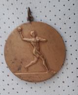 Vintage Handball Bronze Medal Medaille Medaglia Slovenia - Handball