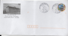 Enveloppe Commémorative - 150ème Anniversaire De L'école Nationale D'horlogerie - Lycée Charles Poncet -  Cluses - Other