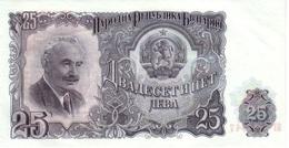 Bulgaria 25 Leva 1951 Pk 84 A UNC Ref 257-1 - Bulgaria