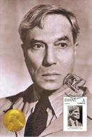 Spain 2015 - Nobel Prize 1958 - Literature - Boris Pasternak/U.R.S.S. Maxicard - Premio Nobel