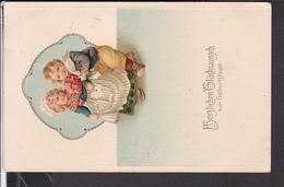 Postkarte  Geburtstag , Geprägt - Controluce