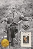 Spain 2015 - Nobel Prize 1952 - Literature - François Mauriac/France Maxicard - Premio Nobel