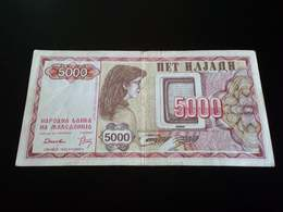 Macedonia 5000 Denari 1992 - Macedonia