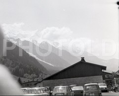 70s ALPES FRANCE SUISSE SCHWEIZ SWITZERLAND 60mm AMATEUR NEGATIVE NEGATIVE NOT PHOTO NEGATIVO NO FOTO - Photographie