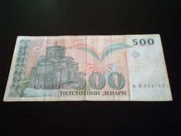 Macedonia 500 Denari 1993 - Macedonia