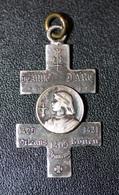 """WWI - Médaille Porte-bonheur """"Jeanne D'Arc / Croix De Lorraine"""" WW1 - 1914-18"""
