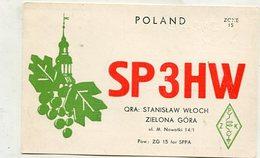QSL Card - AK 346512 Poland - Zielona Gora - Radio Amatoriale