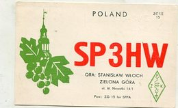 QSL Card - AK 346512 Poland - Zielona Gora - Radio Amateur