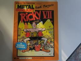 RICKY VII - FRANCK MARGERIN - Edition Original - Margerin