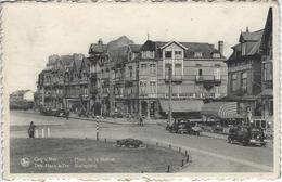 De Haan - Coq Sur Mer - Place De La Station - Statieplein - Voyagé 19 Août 1940 - De Haan