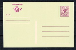 Belg. Pk Heraldieke Leeuw / Cp  Lion Héraldique   5,00 F  Nieuw / Neuf - Entiers Postaux