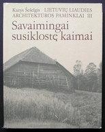 Lithuanian Book / Savaimingai Susiklostę Kaimai Album 1988 - Bücher, Zeitschriften, Comics