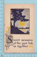 Carte Postale CPA - Sweet Memories- Used Voyagé En 1914, + CND Timbre, Send To Titus Station  Quebec - Cartes Postales