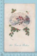 Carte Postale CPA - 365 Jours De Bonheur- Used Voyagé En ?, + CND Timbre, Send To St-Hyacinthe Quebec - Cartes Postales