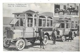 Linie M TRUBAU ZWITTAU (Rep Tchèque) Staatliche Postautomobile Autobus Poste Gros Plan - Tchéquie