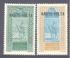 Haute Volta: Yvert N° 41/42* - Obervolta (1920-1932)