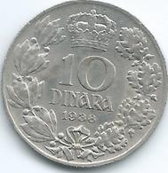 Yugoslavia - Peter II - 1938 - 10 Dinar - KM22 - Yougoslavie