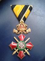 Bulgarian Medal For Military Merit Grade IV - 4- - Medaillen & Ehrenzeichen