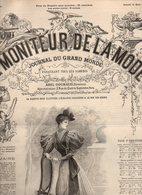 Le Moniteur De La Mode N°13 Le Home Les Styles Français Renaissance Style François Ier - Théâtres Madame La Commissaire - Zeitungen - Vor 1800