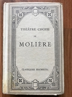 Théâtre Choisi De Molière - Ernest Thirion - Théâtre