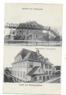 RHEINGONHEIM (Allemagne) Carte Gruss Deux Vues - Autres