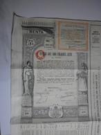 Roumanie. Titlu De 500 Franci Aur, Bucuresti, Januarie 1929 - Banque & Assurance