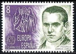 España. Spain. 1980. Federico Garcia Lorca. Poeta - Escritores