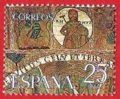 España. Spain. 1980. Tapiz De La Creacion (fragmento). Gerona - Arte