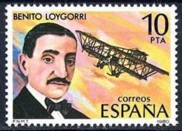 España. Spain. 1980. Benito Loygorri Pimentel. Pionero De La Aviacion Española - Celebridades